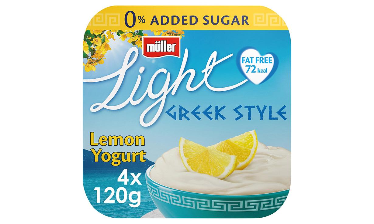 Muller Light yogurt