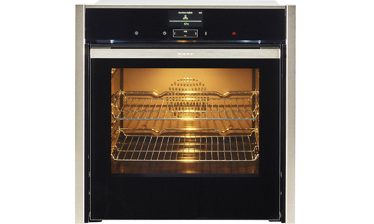 Neff B47CS34H0B Slide & Hide single oven