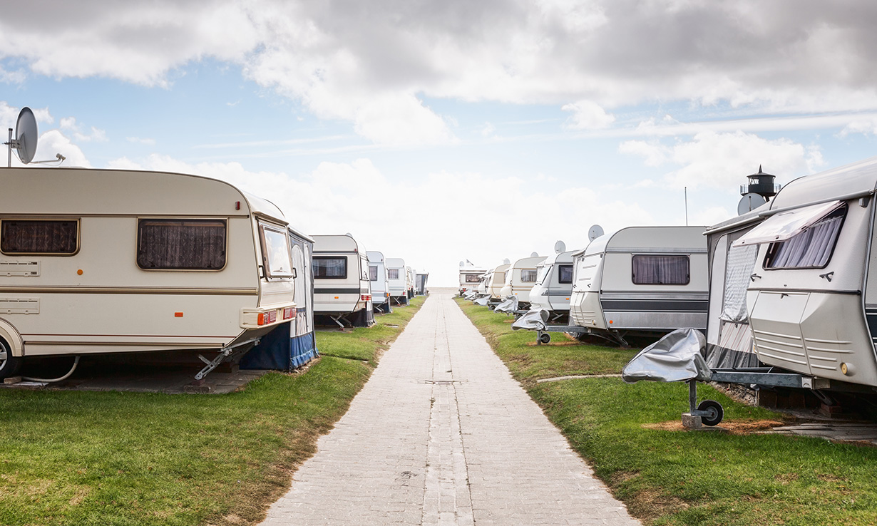 campsite UK caravan sat nav
