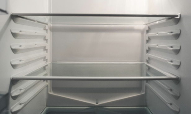 Drain hole in a fridge