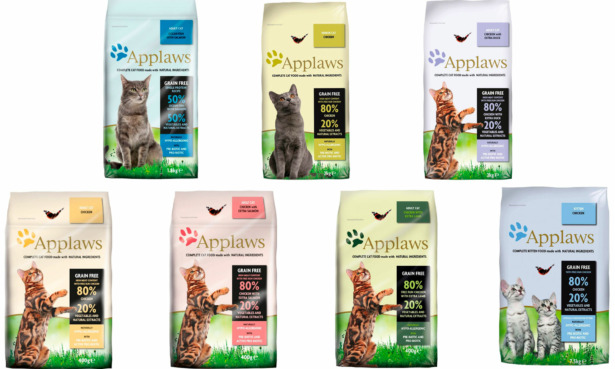 Applaws cat food products recalled