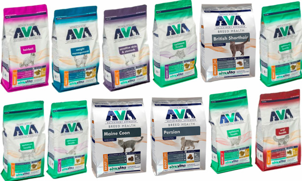 AVA cat food products recalled