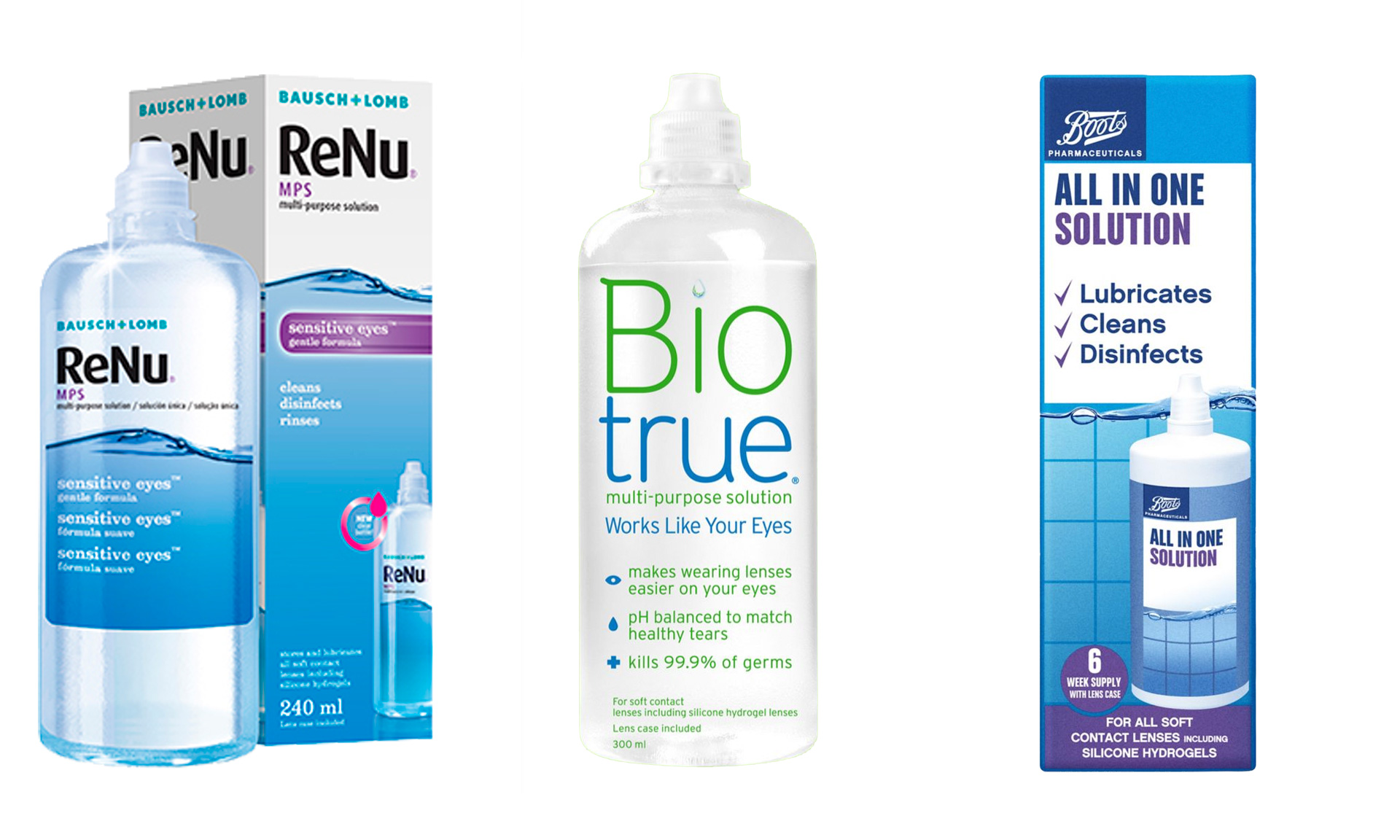 Product recall: contact lens solution, eye wash and eye lubricant