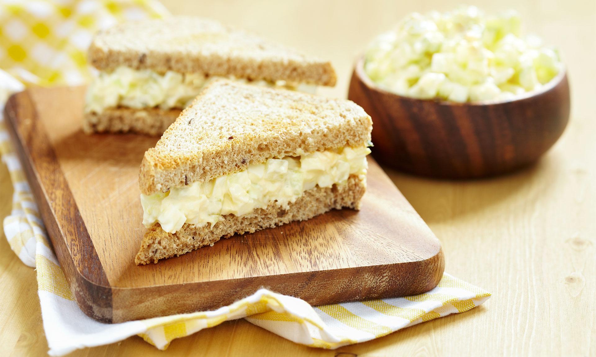 Egg mayo sandwich recipe