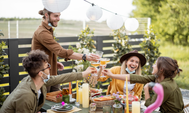 Garden party essentials: four tips to be the best host