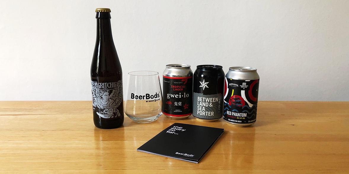 BeerBods by Beer Hawk beer subscription