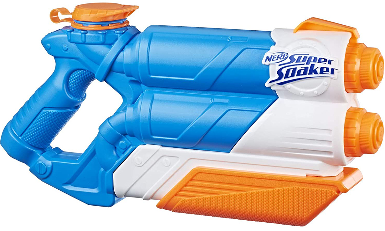 Nerf Super Soaker Twin Tide water gun