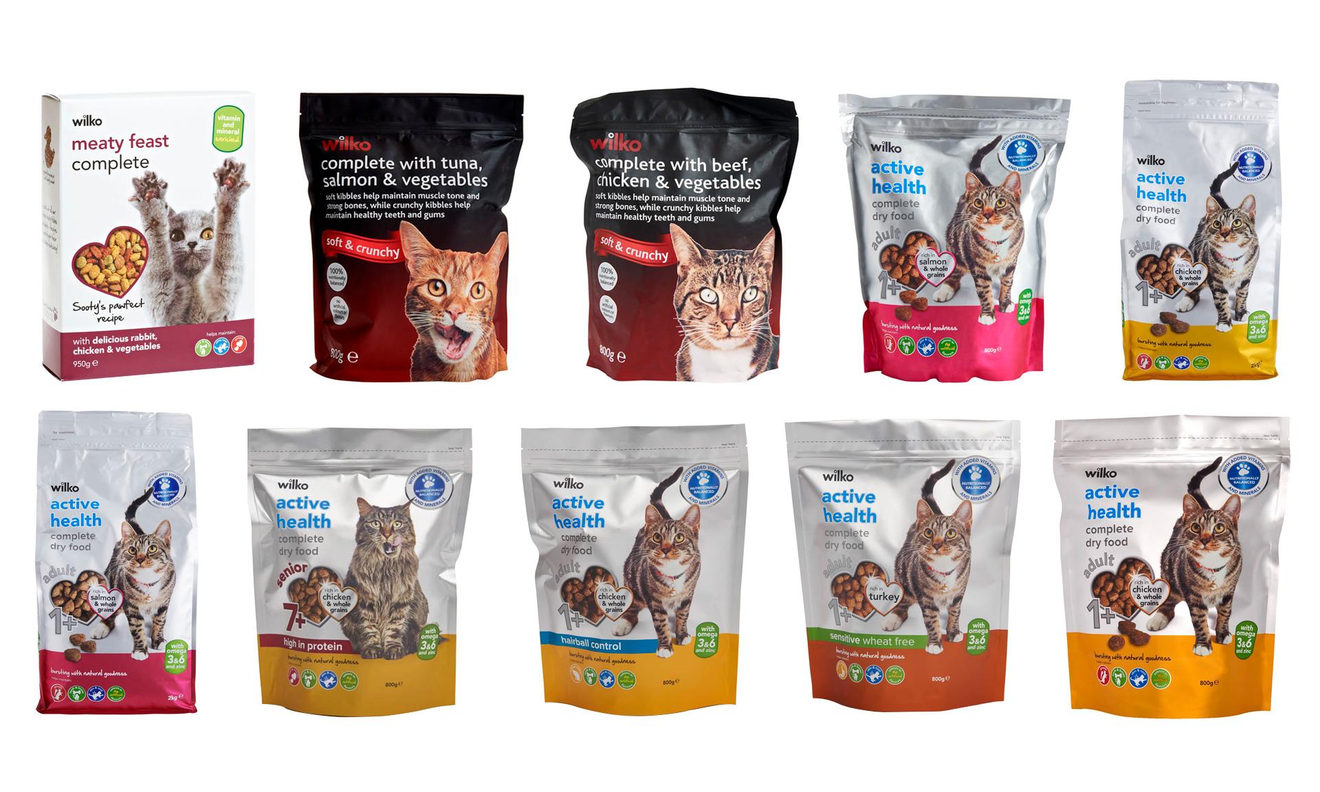 Wilko cat foods recalled