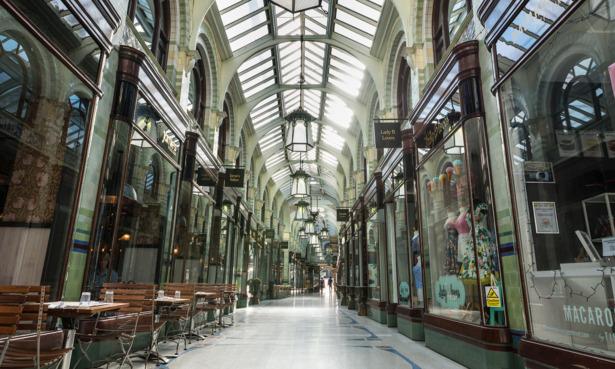 Norwich shopping arcades