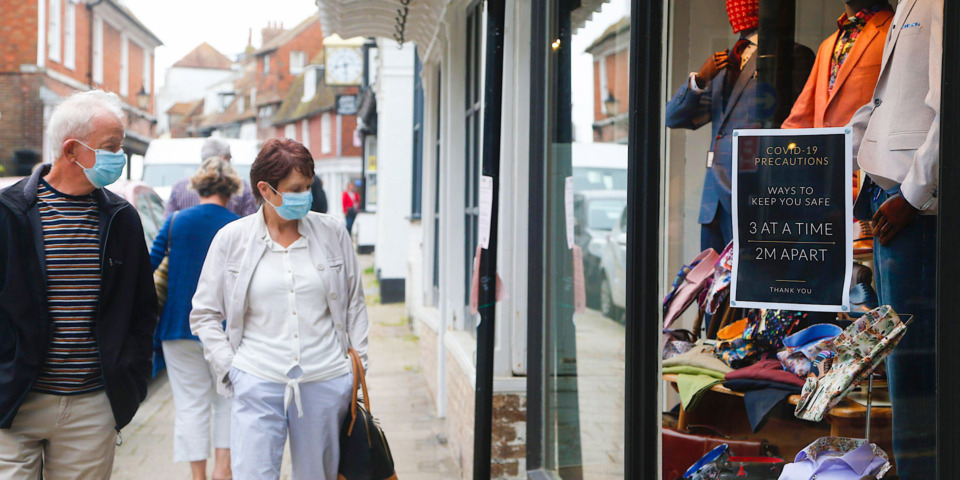 Shoppers feel safe on the high street as hairdressers remain in high demand