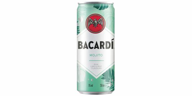 bacardi mojito can