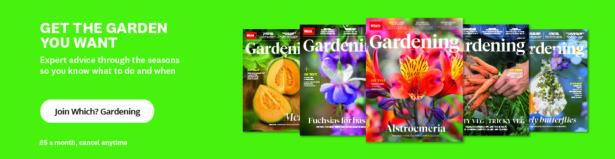 Which? Gardening sign up