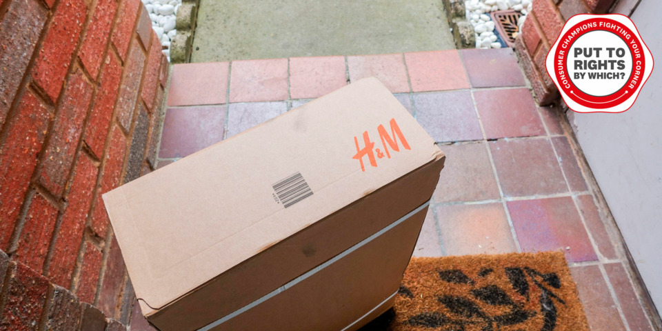 'My H&M parcel didn't arrive and it won't refund me. What can I do?'