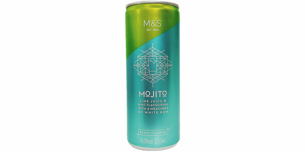 Marks and spencer mojito can