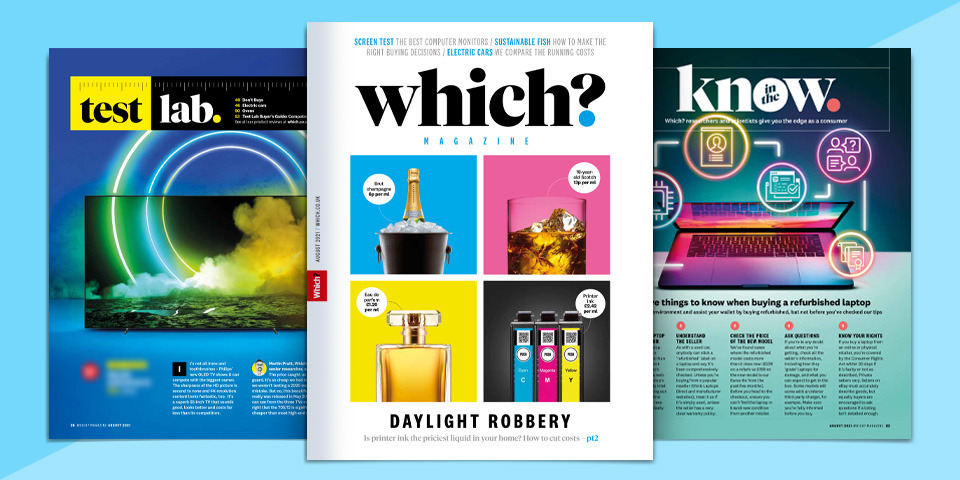What's new in Which? magazine: August 2021