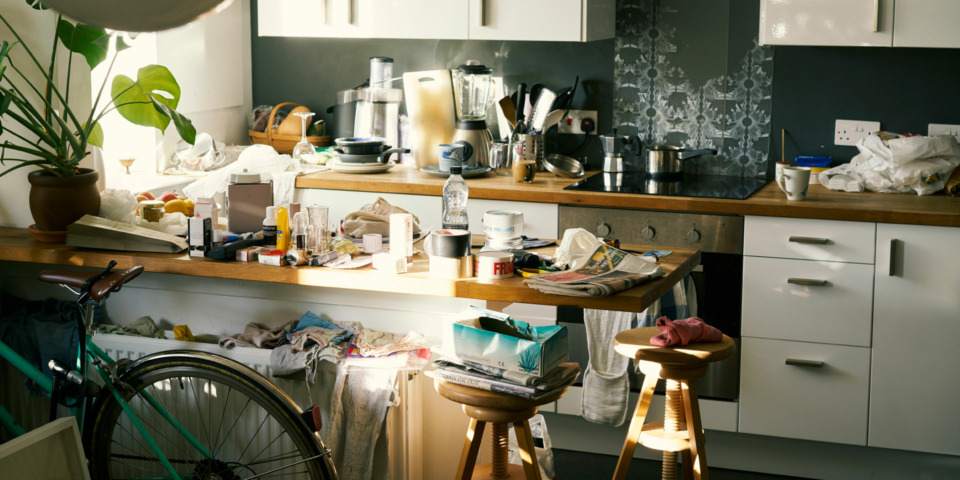 Simple tips to get rid of nasty smells and flies in your kitchen