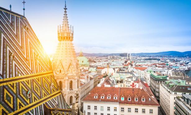 Vienna's skyline