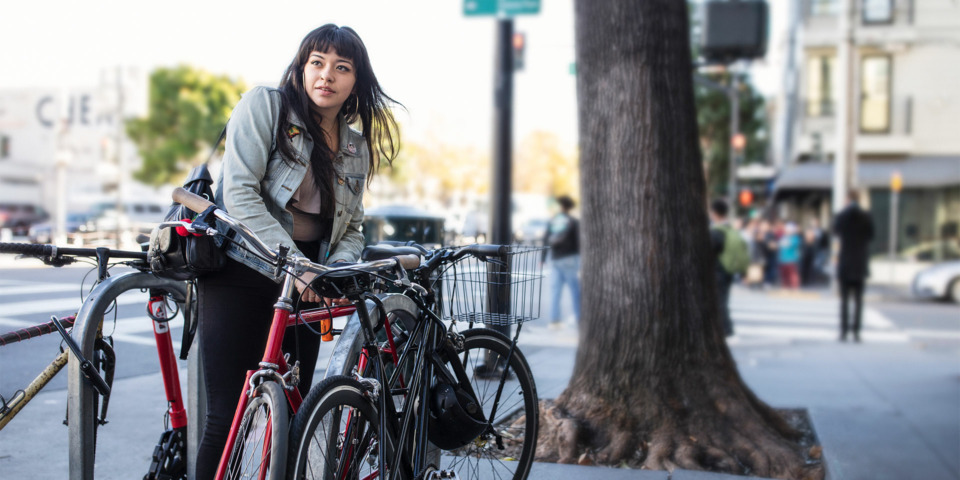 Six ways to keep your bike secure when you're out and about