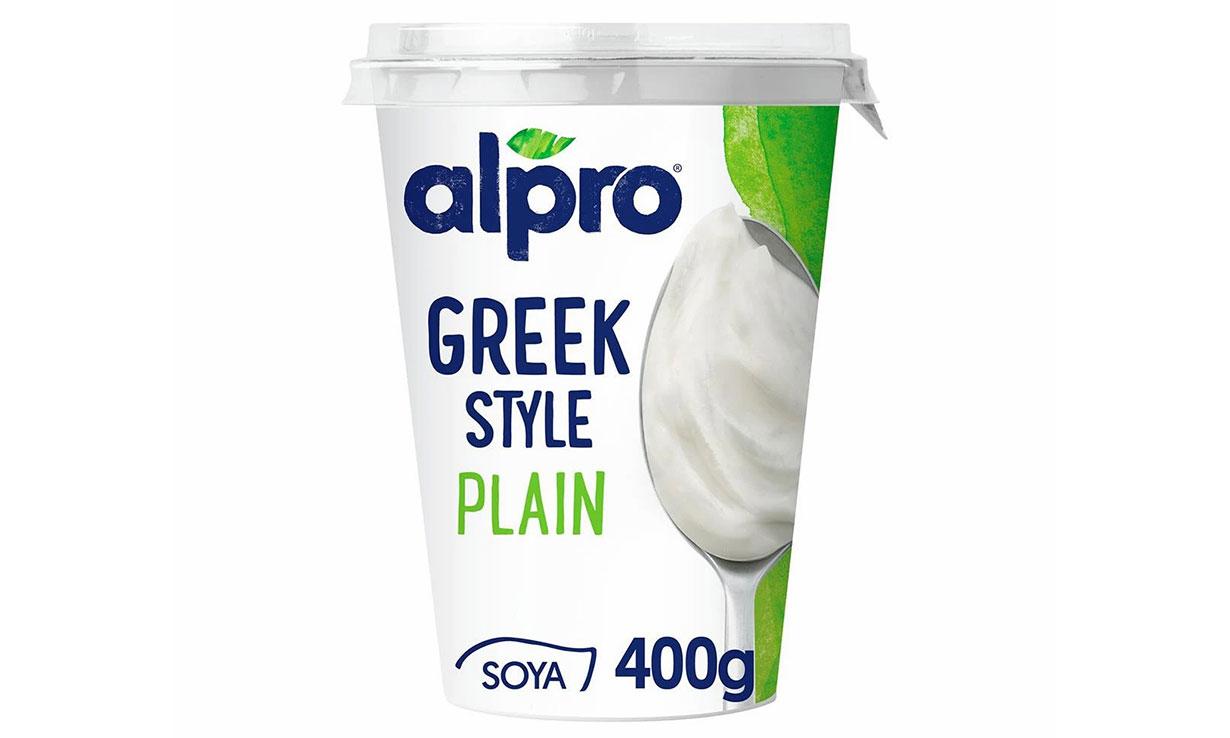 Alpro Greek Style Plain Yogurt Alternative