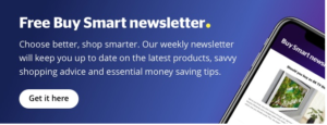 Which? Buy Smart newsletter sign up banner