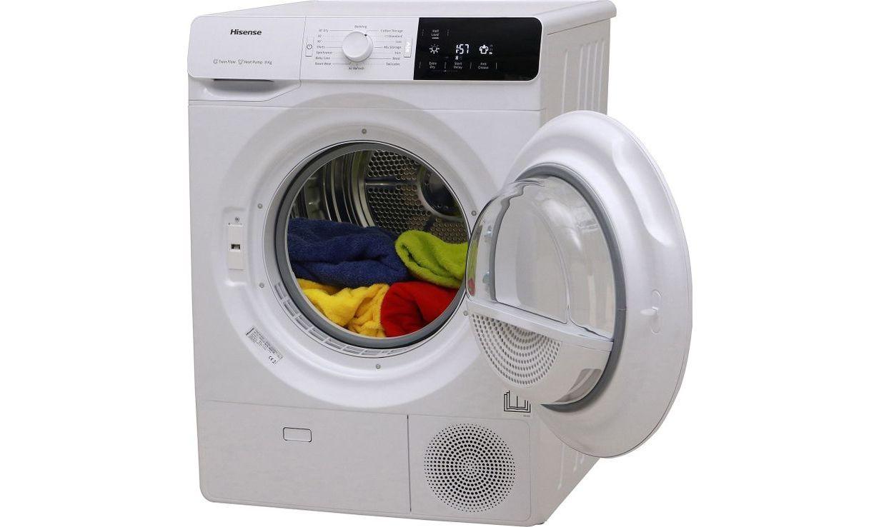 Hisense_DHGE8013 tumble dryer