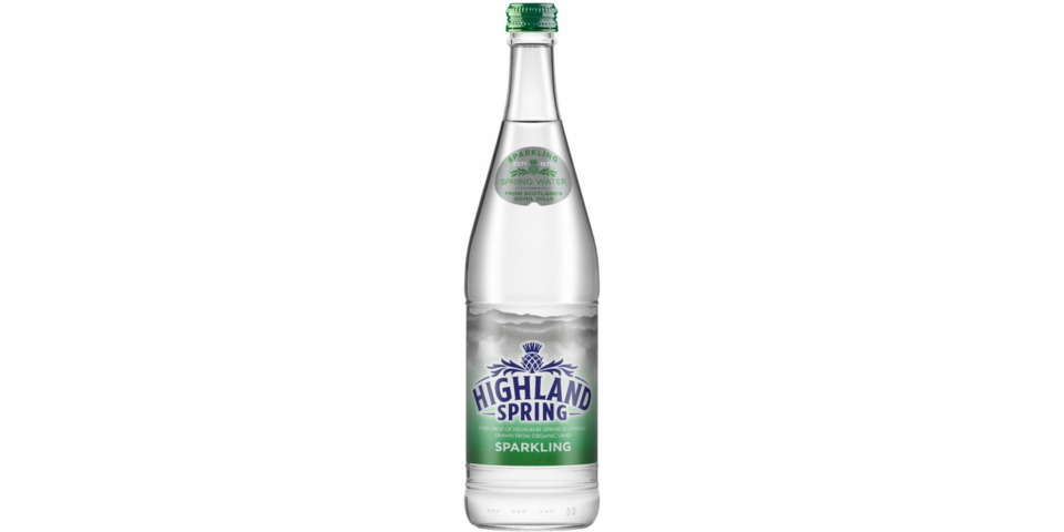 Highland Spring recalls bottles of sparkling water due to risk of explosion