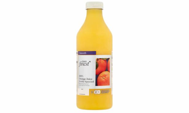 Tesco Finest freshly squeezed orange juice