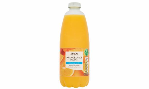 Tesco chilled orange juice
