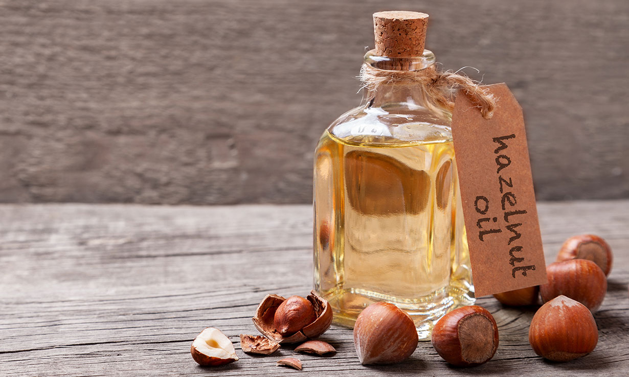 2) Replace vegetable oil with hazelnut oil