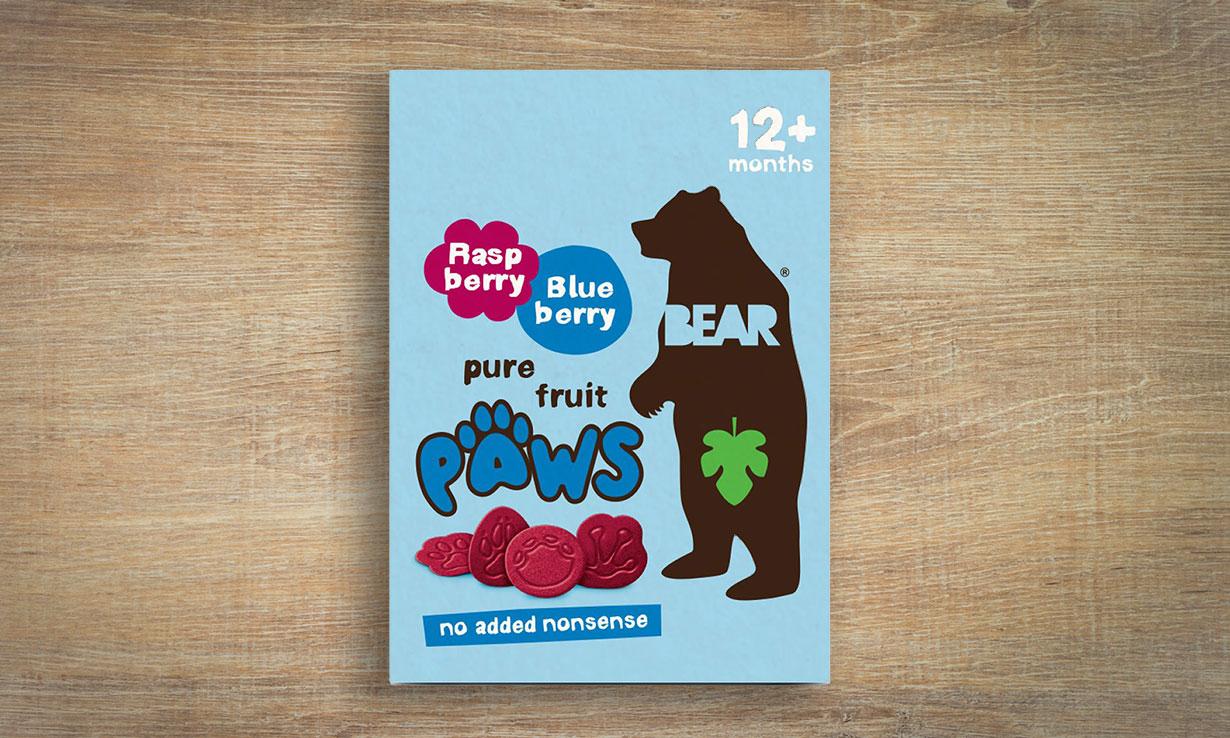 Fruit-based snack for children