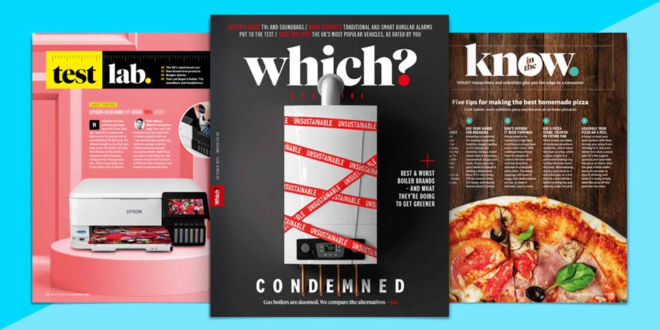 What's new in Which? magazine: October 2021