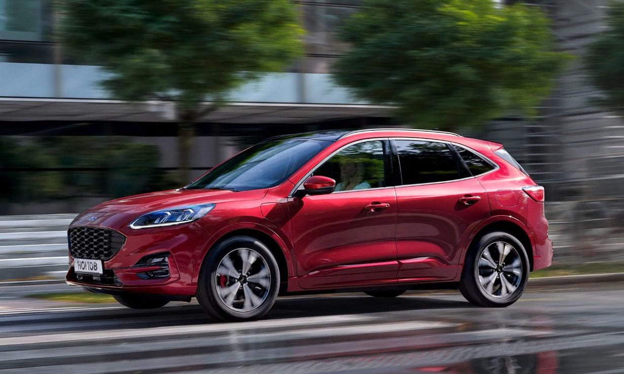Ford Kuga plug-in hybrid car