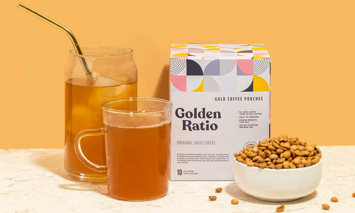 Golden Ratio Gold Coffee