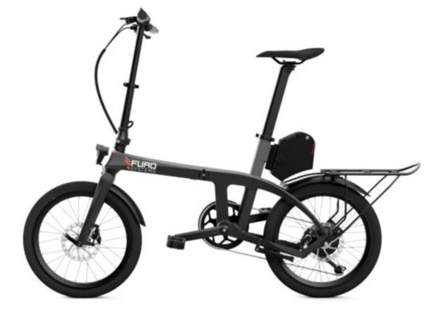 Furo X folding e-bike side view