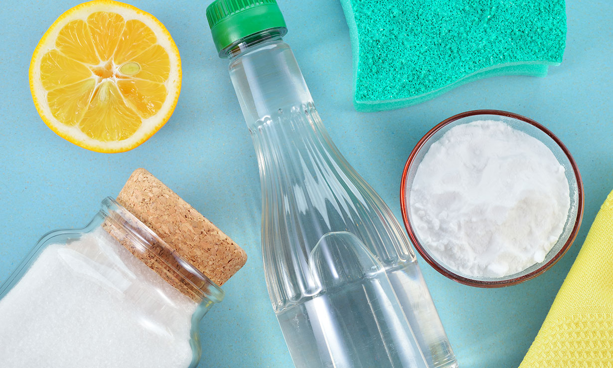 Home remedy stain removers