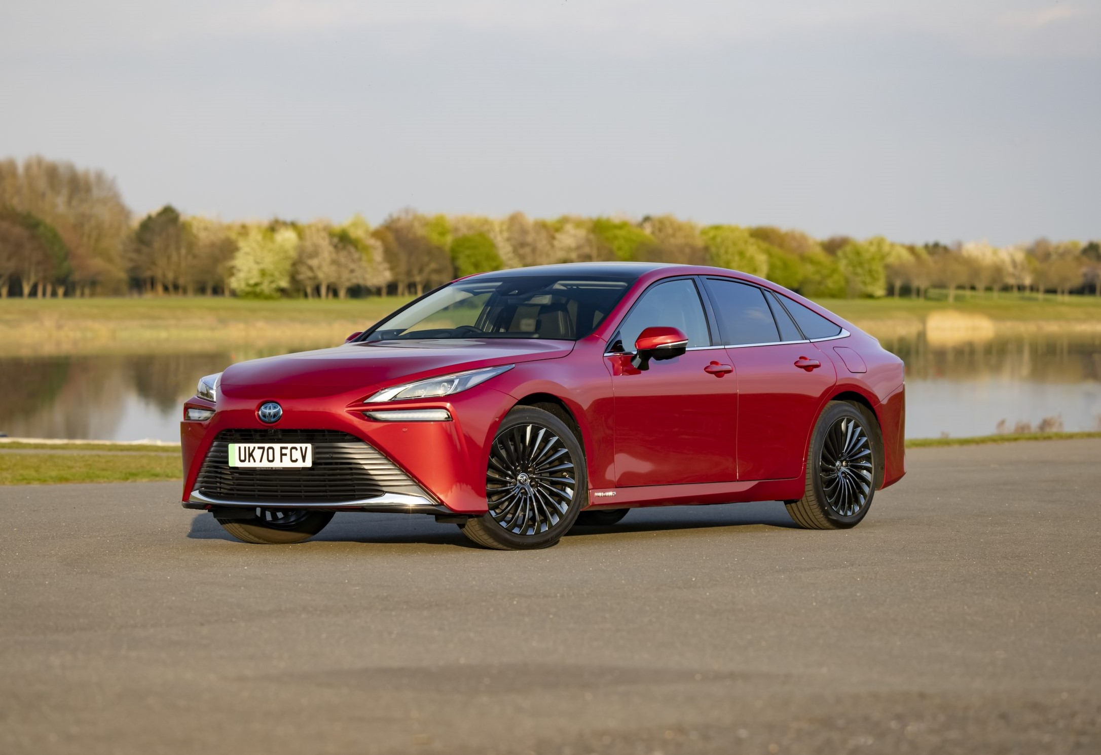 Toyota Mirai zero emission car (at tailpipe)