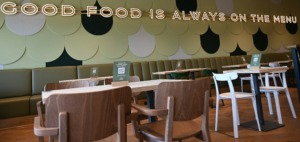 M&S revamped café in Solihull Retail Park