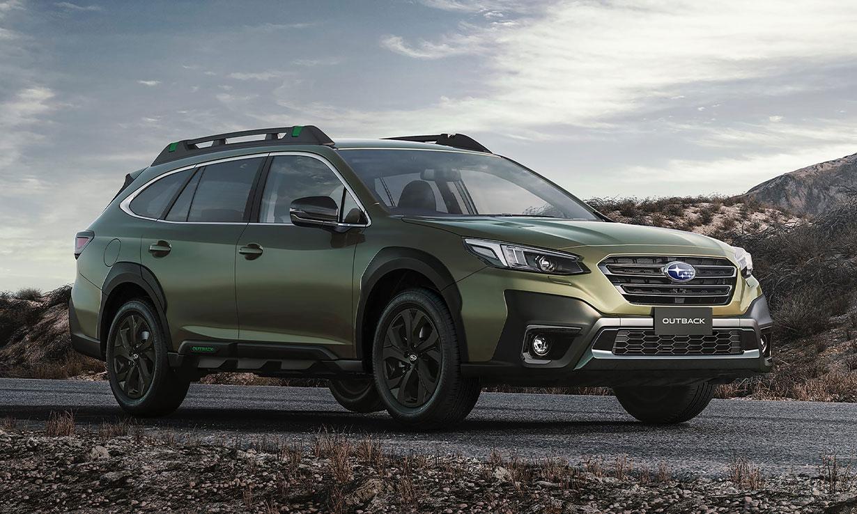 Subaru Outback petrol 4x4 car