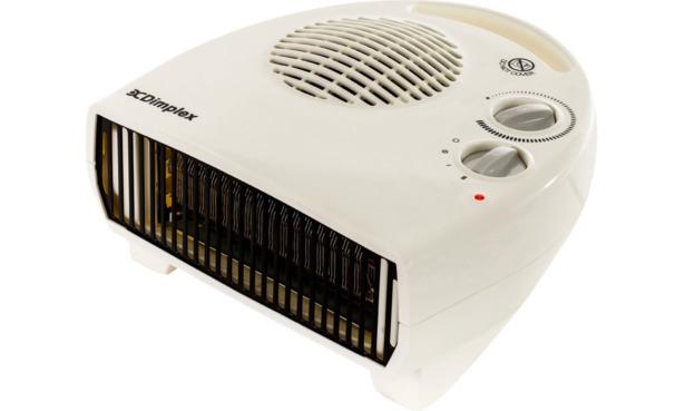 Dimplex-3kW-White-Flat-Fan-Heater