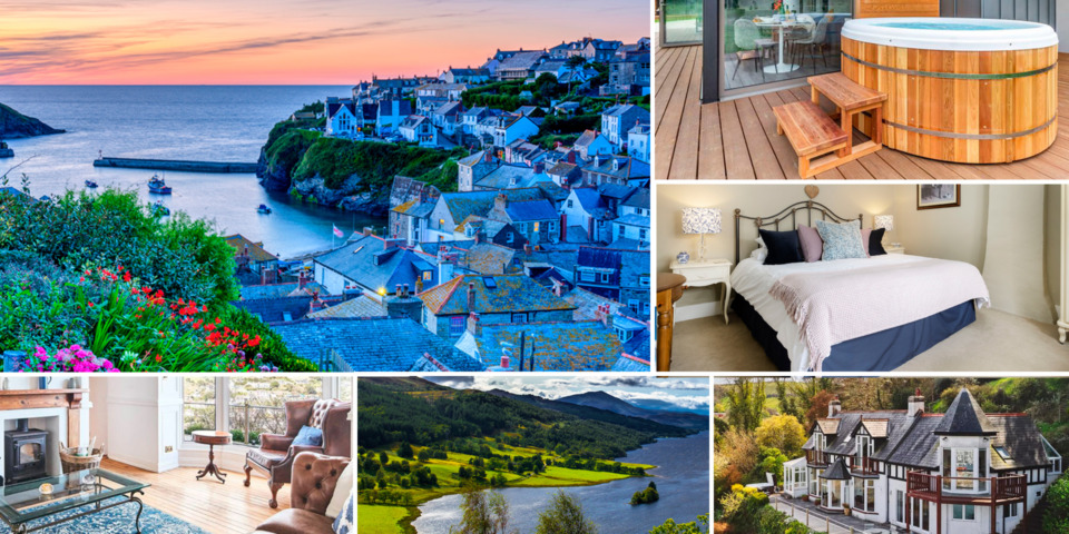 Holiday cottages with hot tubs in stunning UK destinations