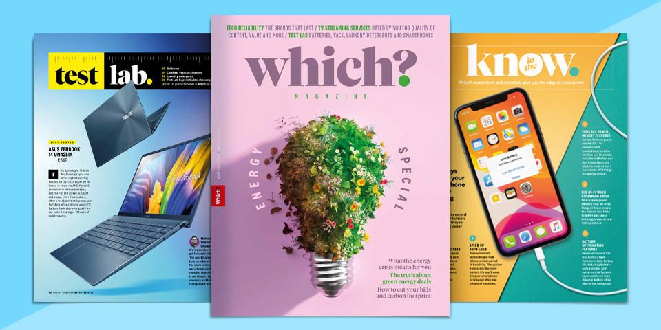 What's new in Which? magazine: November 2021