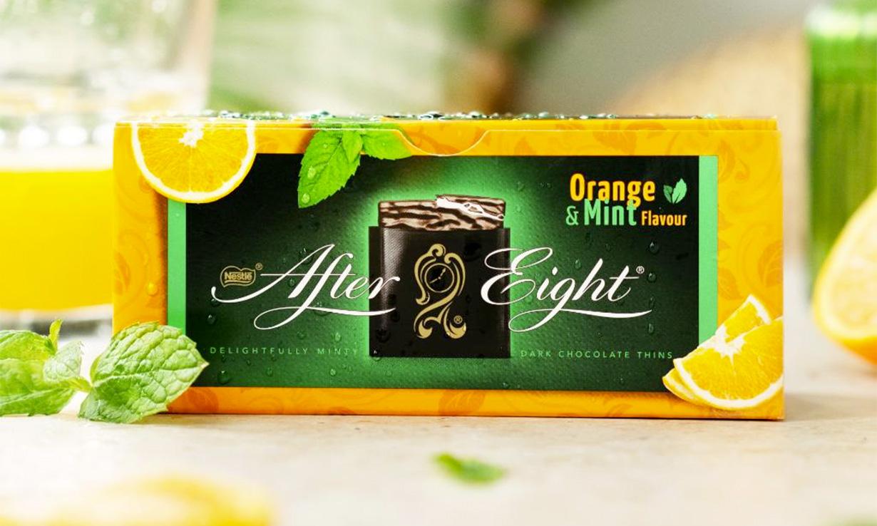 After Eight Orange & Mint