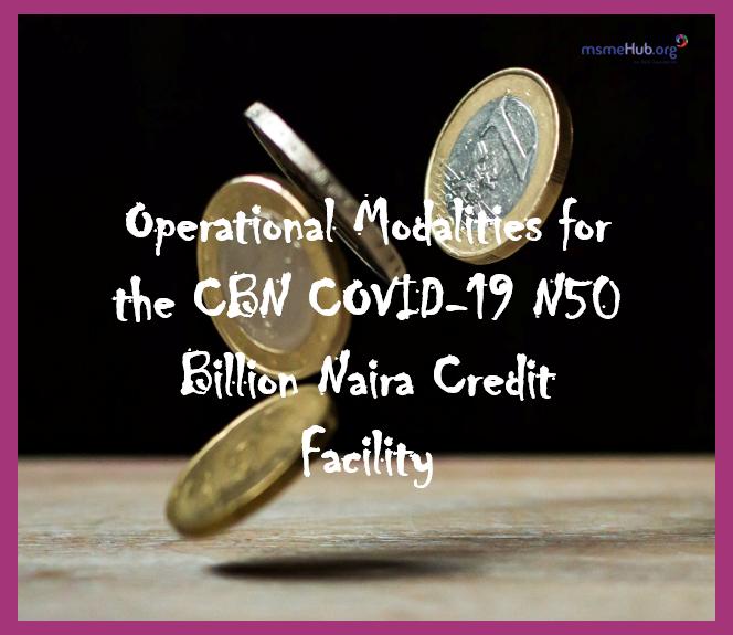 How To Access The Cbn Covid 19 N50 Billion Naira Credit Facility Msme Hub Nigeria