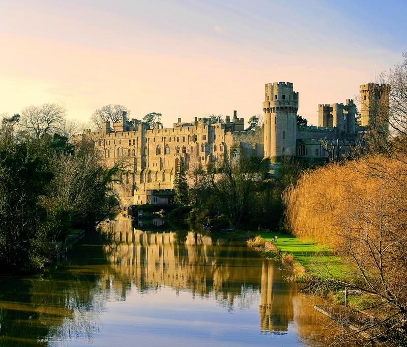 Уорикский замок в Англии