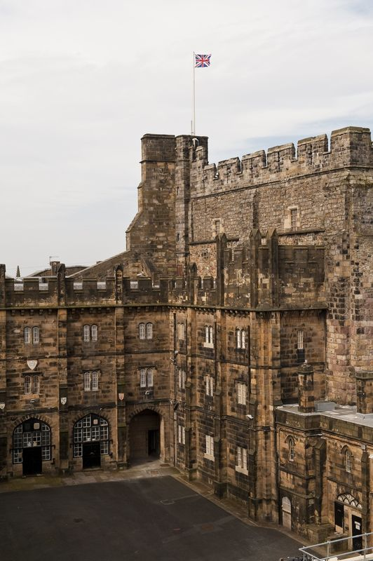Ланкастерский замок в Англии