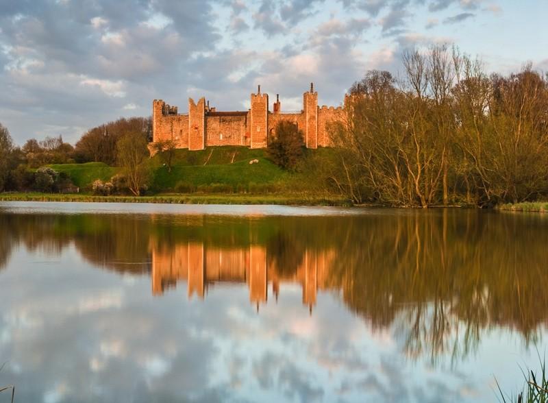 Замок Фрамлингем в Англии