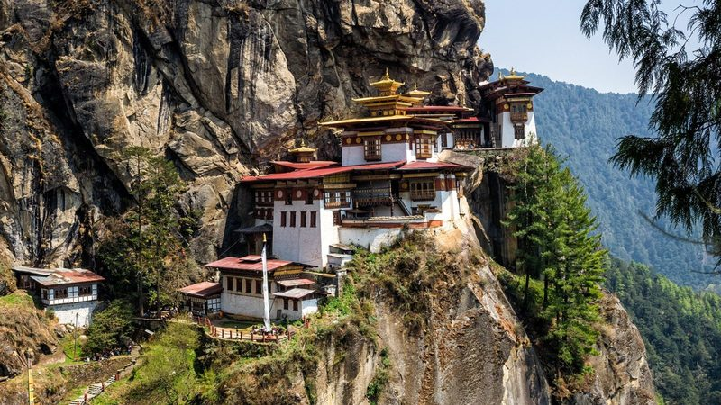 Такцанг-лакханг в Бутан