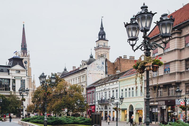 Нови Сад в Сербии