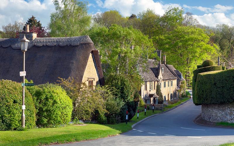 Broad Campden в Англии