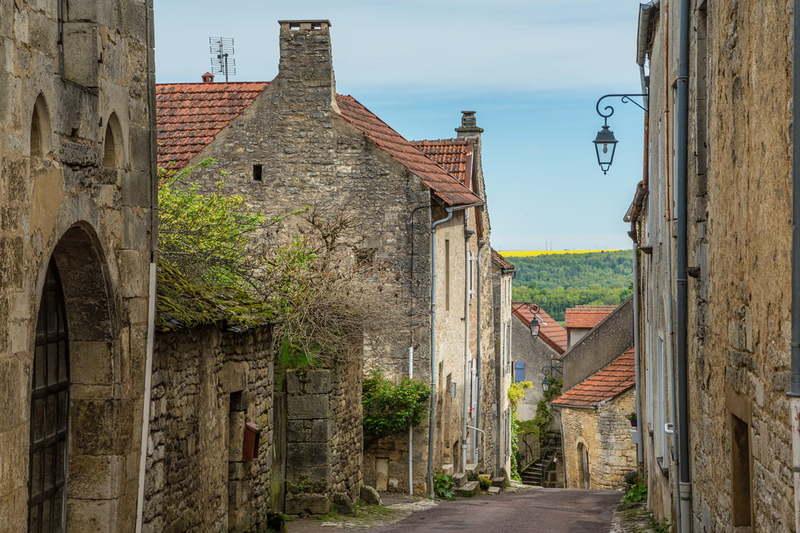 Флавиньи-Сюр-Озрен во Франции